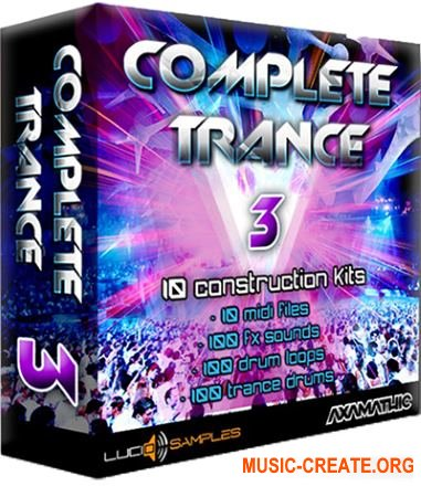 Lucid Samples Complete Trance Vol. 3 (WAV) - сэмплы Trance