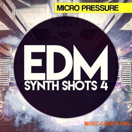 HY2ROGEN EDM Synth Shots Vol 4 (MULTiFORMAT) - сэмплы EDM