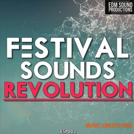 EDM Sound Productions Festival Sounds Revolution (WAV MiDi) - сэмплы Big Room House