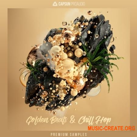 CAPSUN ProAudio Golden Beats and Chill Hop (WAV) - сэмплы Hip Hop, Organic Trap, Future Beats