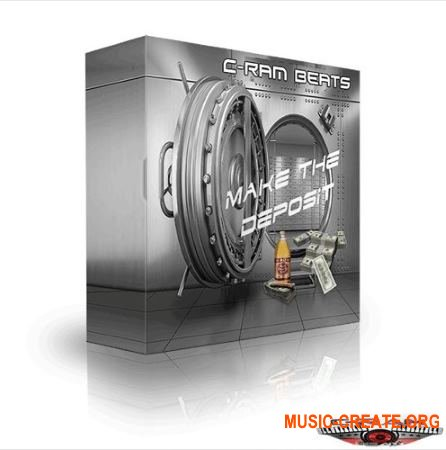 C-Ram Beats Make The Deposit (WAV MiDi) - сэмплы Dirty South, Trap