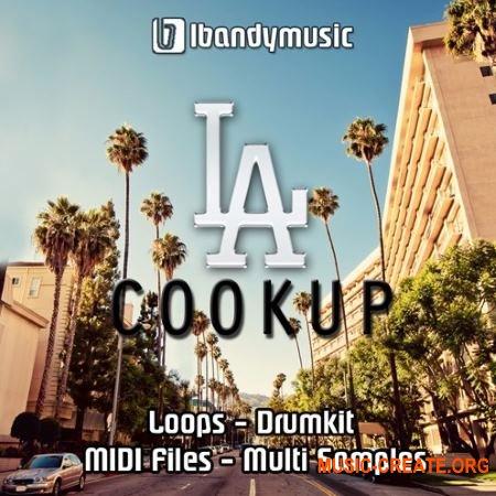 LBandyMusic LA Cookup (WAV MiDi AiFF) - сэмплы West Coast, G-Funk