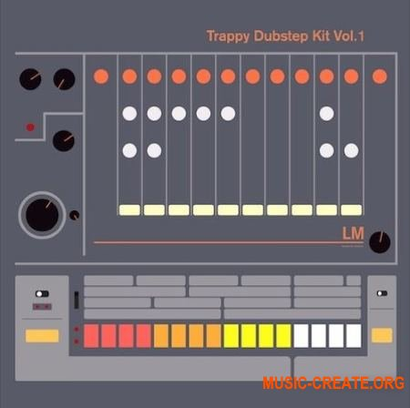 Samplephonics LM Trappy Dubstep (WAV) - сэмплы Dubstep