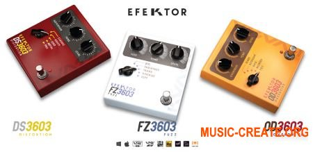 Kuassa Efektor Distortion Bundle v1.0.0 WiN / OSX (Team R2R) - плагины Дисторшн, Фузз, Овердрайв