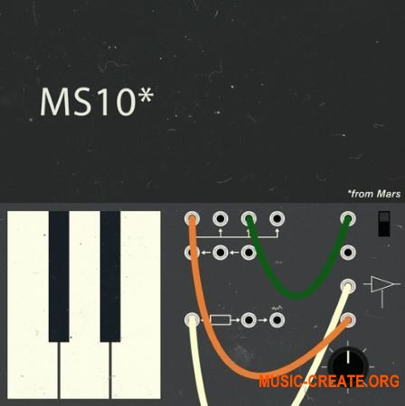 Samples From Mars MS10 From Mars (MULTiFORMAT) - сэмплы синтезатора MS10