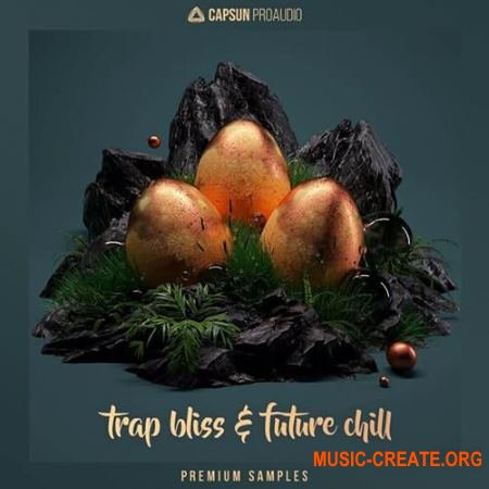 CAPSUN ProAudio Trap Bliss and Future Chill (WAV REX) - сэмплы Trap, Future Chill