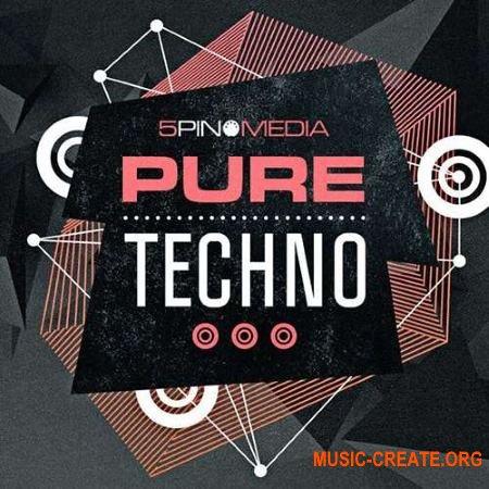 5Pin Media Pure Techno (WAV MiDi REX) - сэмплы Techno