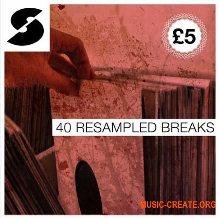 Samplephonics 40 Resampled Breaks (WAV) - сэмплы Drum and Bass, Breaks