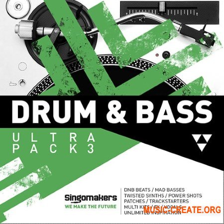 Singomakers Drum and Bass Ultra Pack 3 (MULTiFORMAT) - сэмплы Drum and Bass