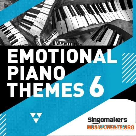 Singomakers Emotional Piano Themes Vol.6 (WAV MiDi) - сэмплы фортепиано
