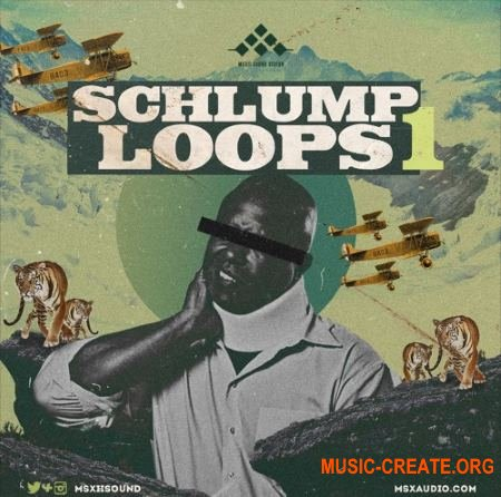 MSXII Sound Design Schlump Loops 1 (WAV) - сэмплы ударных