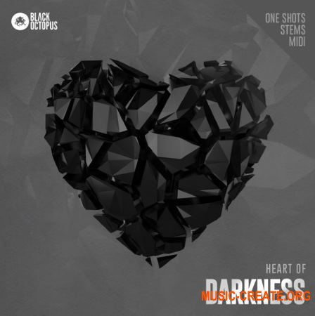 Black Octopus Heart Of Darkness (WAV MiDi) - сэмплы Hip Hop, Trap