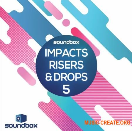 Soundbox Impacts Risers and Drops 5 (WAV) - звуковые эффекты