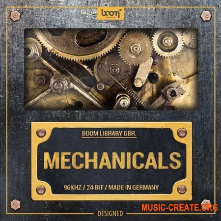 Boom Library Mechanicals Designed (WAV) - звуковые эффекты