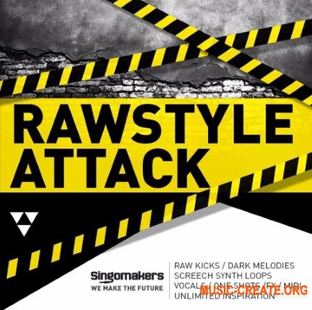 Singomakers Rawstyle Attack (MULTiFORMAT) - сэмплы Techno