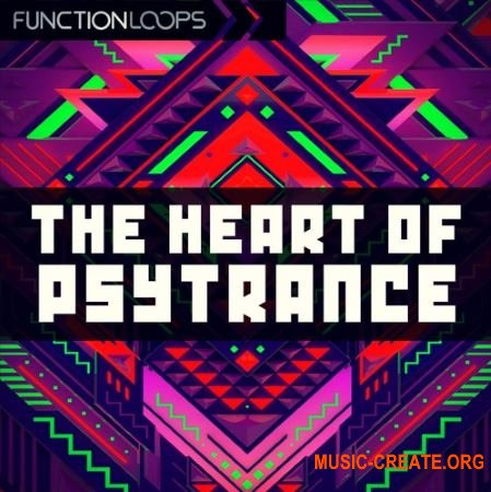 Function Loops The Heart Of Psytrance (WAV MiDi) - сэмплы Psytrance