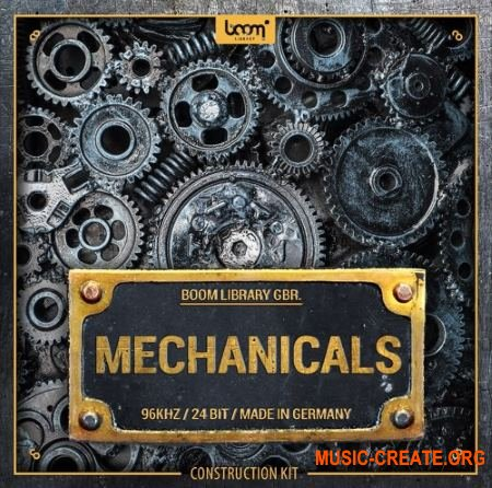 Boom Library Mechanicals Construction Kit (WAV) - звуковые эффекты
