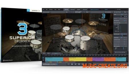 Toontrack Superior Drummer 3 v3.0.1 WiN - сэмпл-движок для ударных