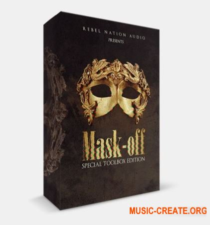 Rebel Nation Audio Mask-Off Special Toolbox Edition (WAV MiDi) - сэмплы Hip Hop, Trap