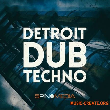 5Pin Media Detroit Dub Techno (MULTiFORMAT) - сэмплы Techno