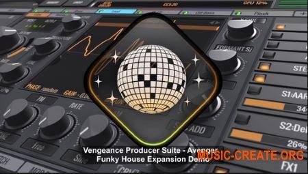Vengeance Avenger Expansion Pack Funky House (Avenger Presets)