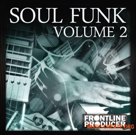 Frontline Producers Soul Funk 2 (WAV REX) - сэмплы Funk