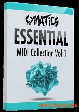 Cymatics Essential MIDI Collection Vol.1 (MIDI)