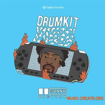 Splice Sounds Sonny Digital Drumkit (WAV) - сэмплы ударных