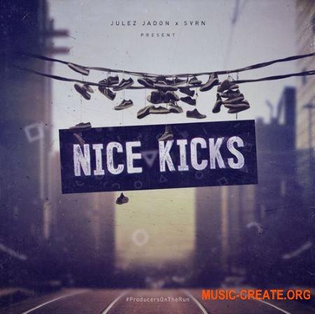Julez Jadon Nice Kicks (WAV) - сэмплы бас-барабанов, перкуссии