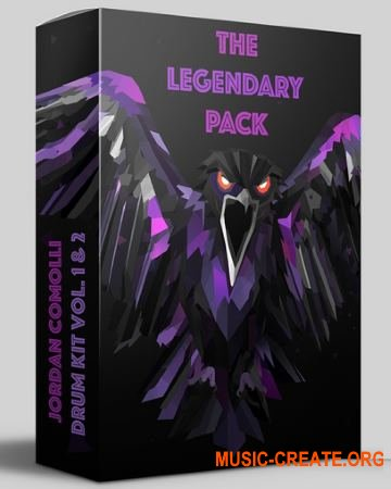 Jordan Comolli Presents THE LEGENDARY PACK Drum Kit Vol. 1 & 2 (WAV FXP) - сэмплы ударных