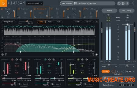 iZotope Neutron Advanced v2.00 x86x64 WIN /MacOSX Fixed - плагин Channel Strip