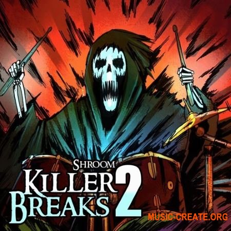 Shroom Killer Breaks Vol. 2 (WAV) - сэмплы Hip Hop