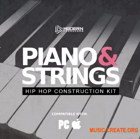 Life And Death Piano and Strings Hip Hop Construction Kit (WAV MiDi) - сэмплы Hip Hop