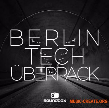 Soundbox Berlin Tech Uberpack (WAV) - сэмплы Tech House, Deep House