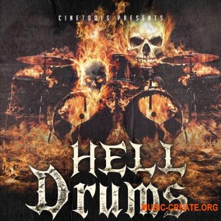 Cinetools Hell Drums (WAV) - сэмплы ударных