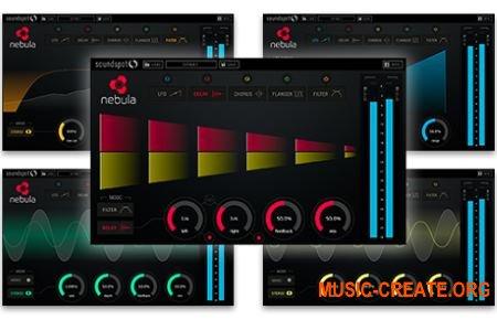 SoundSpot Nebula FX VST VST3 AU AAX v1.0.2 MAC/WiN RETAiL (SYNTHiC4TE) - плагин multi fx
