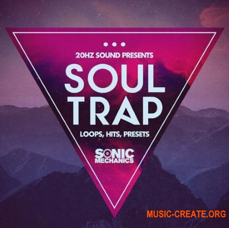 Sonic Mechanics 20Hz Sound Soul Trap (MULTiFORMAT) - сэмплы Trap