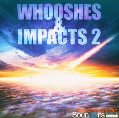 SoundBits Whooshes and Impacts 2 (WAV) - звуковые эффекты
