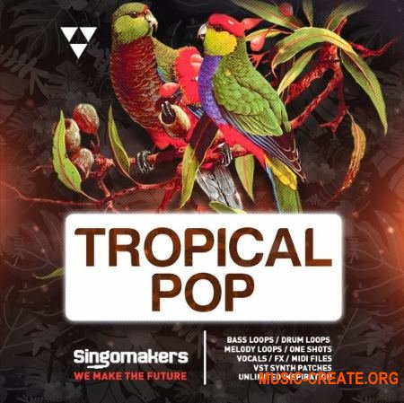 Singomakers Tropical Pop (MULTiFORMAT) - сэмплы Tropical Pop, Tropical House, Reggaeton, Moombahton