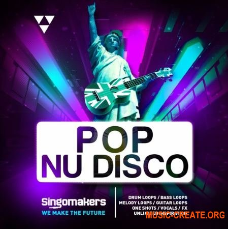 Singomakers Pop Nu Disco (MULTiFORMAT) - сэмплы Pop, Modern Nu Disco, Funk
