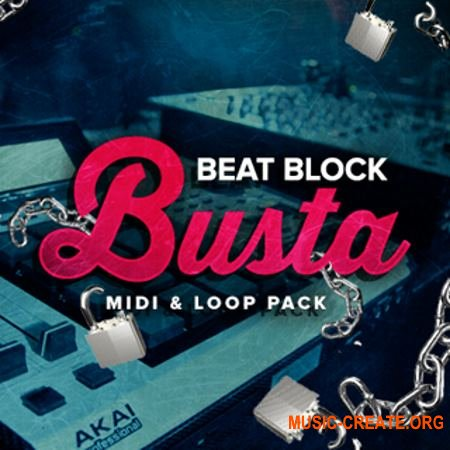 Industry Kits Beat Block Busta (WAV MiDi) - сэмплы Trap