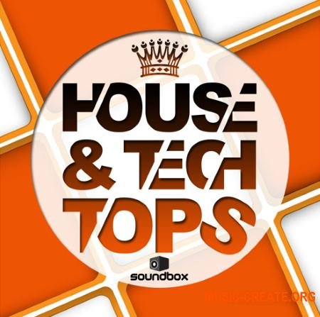 Soundbox House & Tech Tops (WAV) - сэмплы ударных