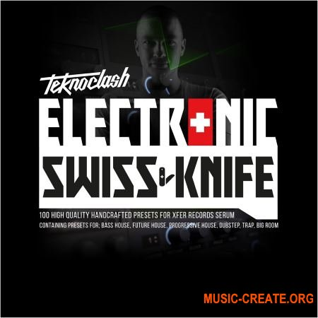 Evolution Of Sound Presents: Electronic Swiss Knife Vol 1 For Serum (Serum presets)