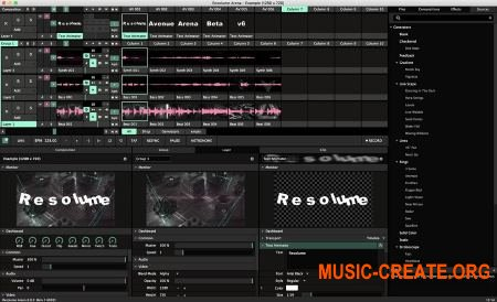 Resolume Arena 6 v6.0.1 WIN OSX (Team R2R) - инструмент VJ