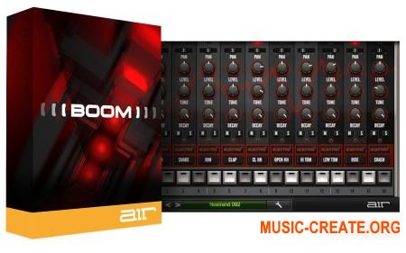 AIR Music Technology Boom v1.2.11 (Team R2R) - драм-машина