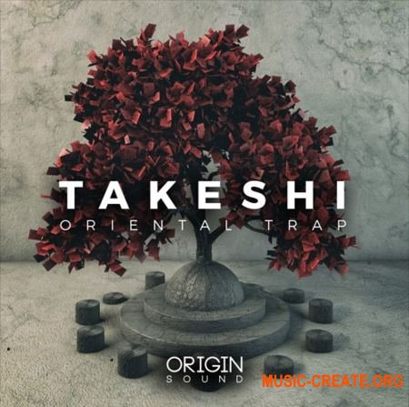 Origin Sound Takeshi (WAV MiDi) - сэмплы Trap, Hip Hop