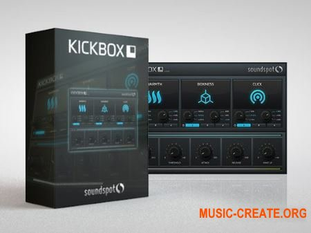 SoundSpot KickBox VST VST3 AU AAX v1.0.2 MAC/WiN - плагин обработки бочек