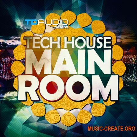 Industrial Strength TD Audio Tech-House Mainroom (WAV MiDi Massive Ni BATTERY) - сэмплы Tech House