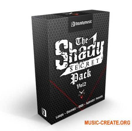 LBandyMusic The Shady Secret Pack Vol 2 (MULTiFORMAT) - сэмплы Hip Hop