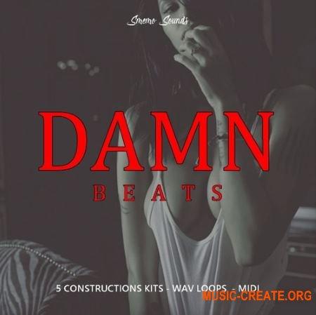 Smemo Sound Damn Beats (WAV MiDi) - сэмплы Trap